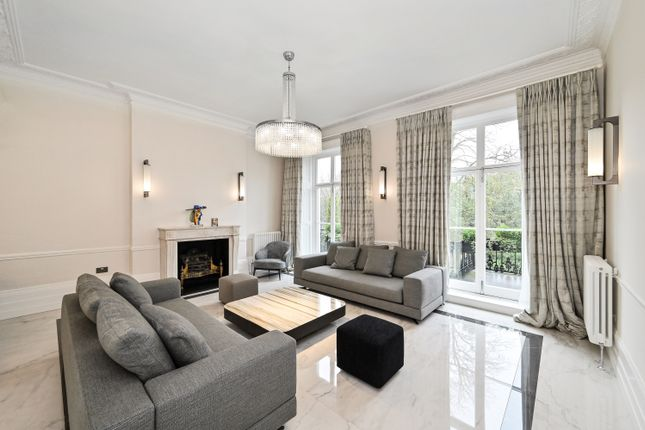 Thumbnail Terraced house to rent in Thurloe Square, South Kensington