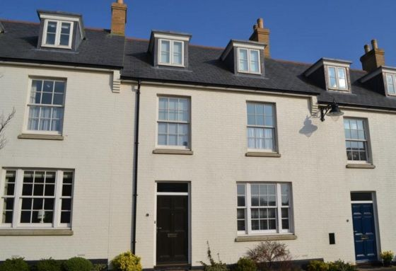3 bed terraced house to rent in Corston Street, Poundbury, Dorchester DT1