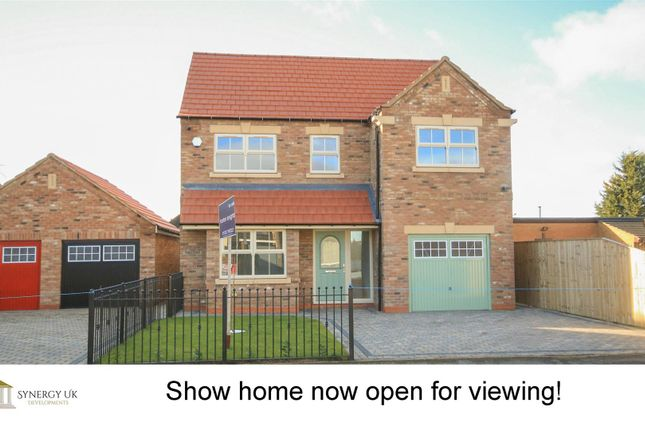Thumbnail Detached house for sale in Greens Road, Dunsville, Doncaster