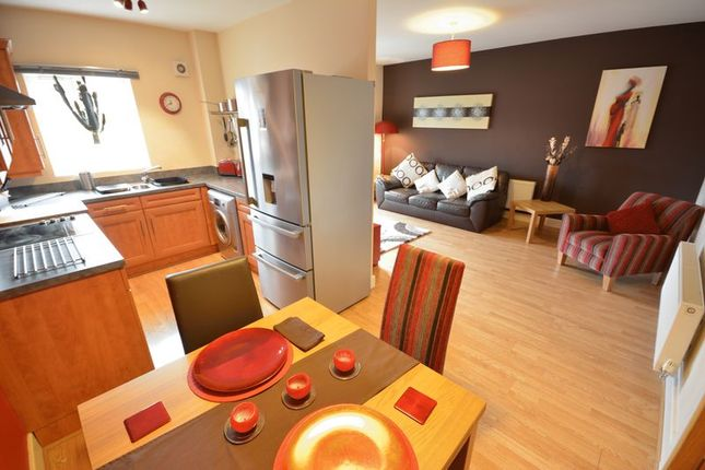 Thumbnail Flat for sale in Riverside View, Clayton Le Moors, Accrington