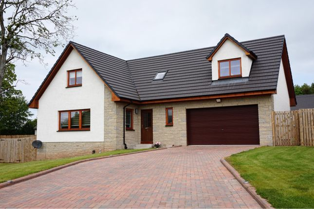 Thumbnail Detached house for sale in Bearehill Drive, Brechin