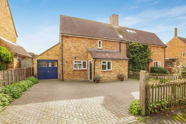 Thumbnail Semi-detached house for sale in Coltman Avenue, Long Crendon, Aylesbury