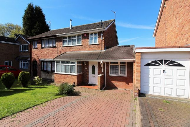 Thumbnail Semi-detached house for sale in Lydney Close, Willenhall