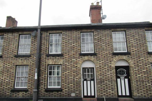 Thumbnail Terraced house to rent in 14, Longbridge Street, Llanidloes