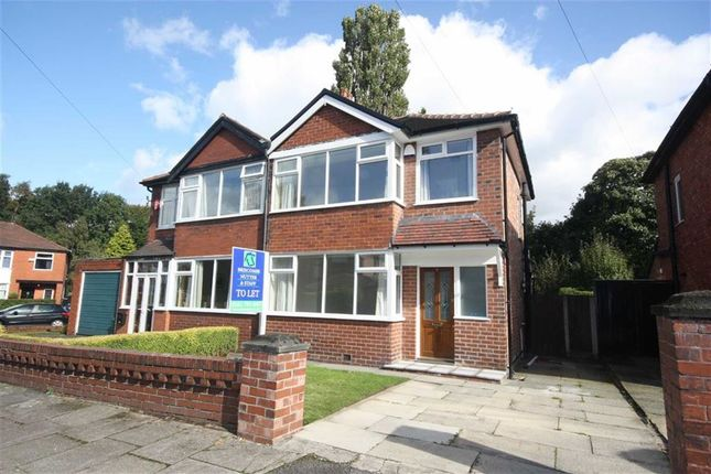 Thumbnail Semi-detached house to rent in Mesne Lea Grove, Worsley, Manchester