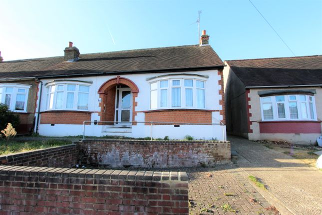 Thumbnail Semi-detached bungalow for sale in Eastcourt Lane, Gillingham, Kent