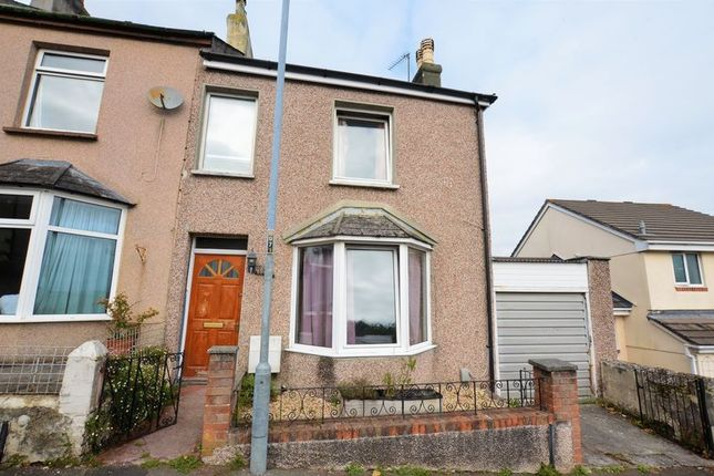 Thumbnail End terrace house to rent in Tavy Road, Saltash