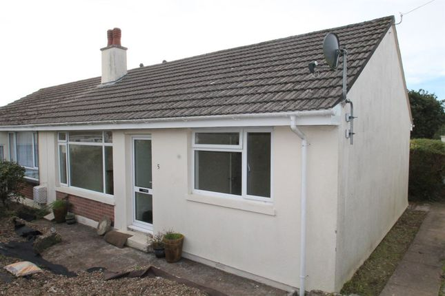 Thumbnail Bungalow to rent in Maynard Park, Bere Alston, Yelverton