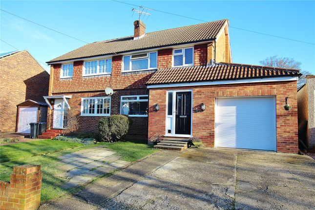 Thumbnail Semi-detached house for sale in St.Johns, Woking, Surrey