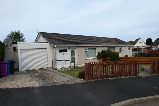 Thumbnail Semi-detached bungalow for sale in 10 Earlsland Crescent, Forres