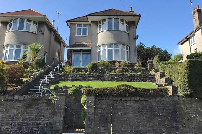 Thumbnail Detached house for sale in Langland Bay Road, Langland, Swansea, West Glamorgan