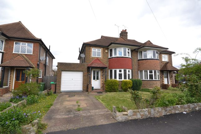 Thumbnail Semi-detached house for sale in Scotsdale Close, Cheam