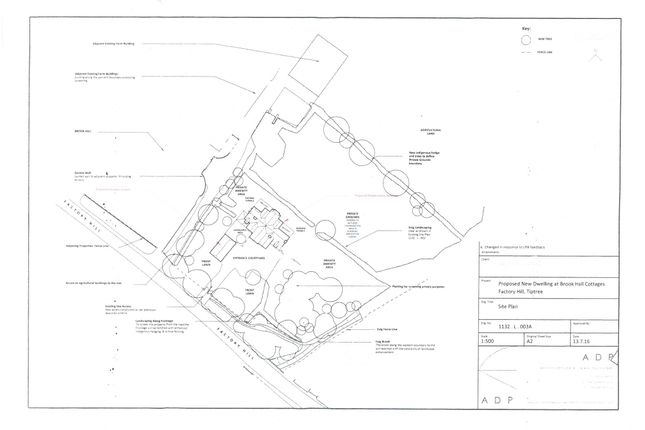 Thumbnail Land for sale in Brook Road, Tolleshunt Knights, Maldon