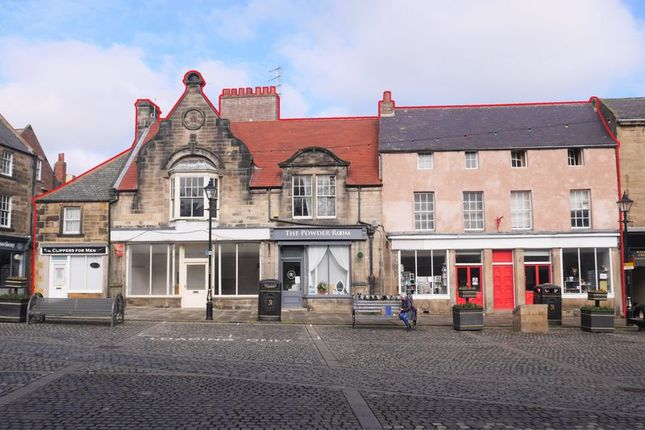 Thumbnail Commercial property for sale in Market Place, Alnwick
