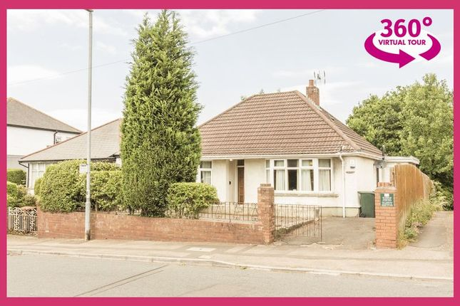 Thumbnail Detached bungalow for sale in Christchurch Road, Newport