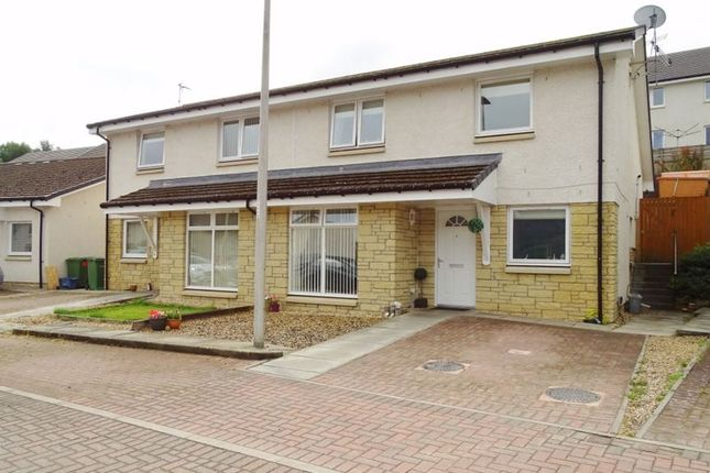 Thumbnail Semi-detached house for sale in Coalsnaughton, Tillicoultry