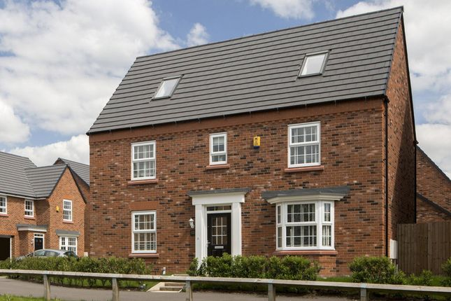 """Thumbnail Detached house for sale in """"Moorecroft"""" at Moss Lane, Elworth, Sandbach"""
