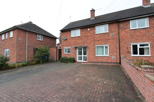 Thumbnail Semi-detached house to rent in New Ashby Road, Loughborough