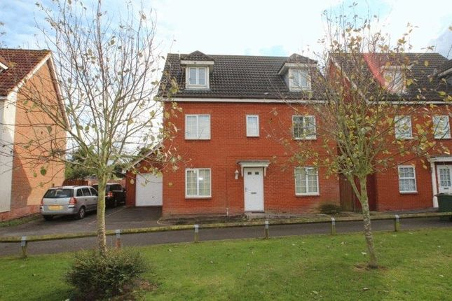 Thumbnail Detached house for sale in Cygnet Close, Attleborough