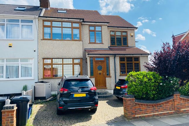Thumbnail End terrace house for sale in Chadwell Heath Lane, Chadwell Heath, Essex
