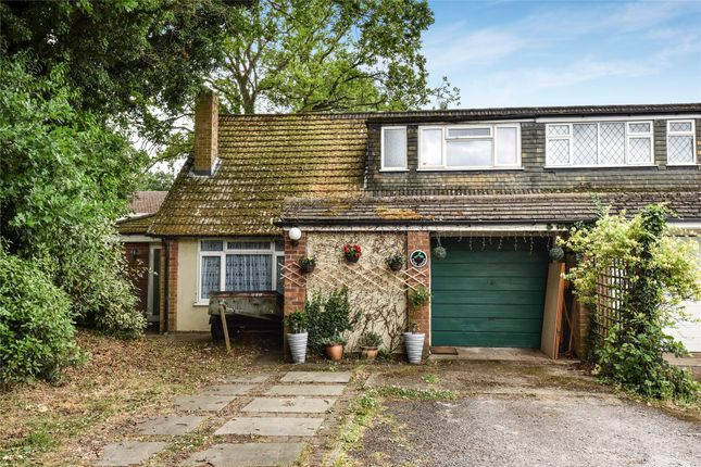 Thumbnail Semi-detached house for sale in Hicks Lane, Blackwater, Camberley