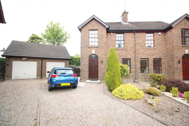 Thumbnail Semi-detached house to rent in Ardmillan, Fortwilliam Park, Belfast