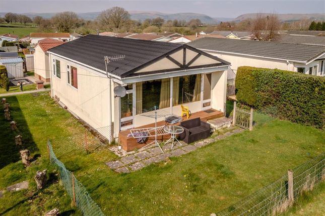 Thumbnail Mobile/park home for sale in 6 Sunny Haven, Howey, Llandrindod Wells