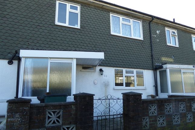 Thumbnail Terraced house to rent in Brierley, Fieldway, New Addington