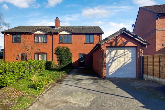 Thumbnail Semi-detached house to rent in Oakfield Road, Alderley Edge