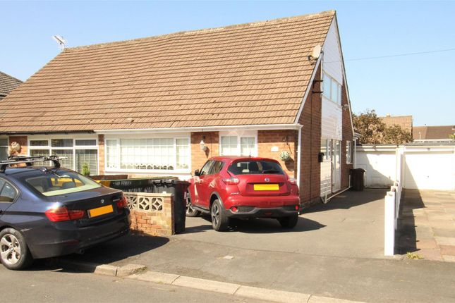 Thumbnail Semi-detached bungalow for sale in Dunlop Drive, Melling, Liverpool