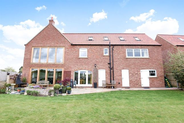 Thumbnail Detached house for sale in Manor Close, Hutton Cranswick, Driffield