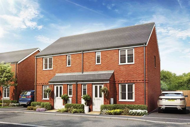 "3 bedroom semi-detached house for sale in ""The Hanbury"" at Primula Close, Weymouth"
