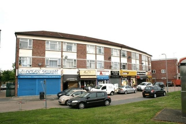 Thumbnail Flat to rent in Pettits Lane North, Romford