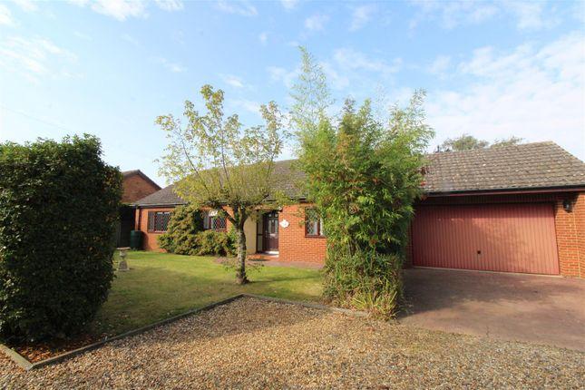 Thumbnail Detached bungalow for sale in Chapel Road, Terrington St. Clement, King's Lynn