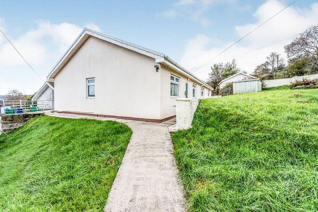 Thumbnail Detached bungalow for sale in Maes Meyrick, Heolgerrig, Merthyr Tydfil
