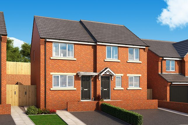 """Thumbnail 2 bedroom property for sale in """"The Cedar"""" at Heathway, Seaham"""