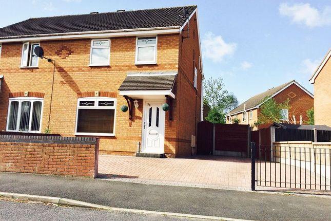 Thumbnail Semi-detached house for sale in Rees Park, Burscough, Ormskirk