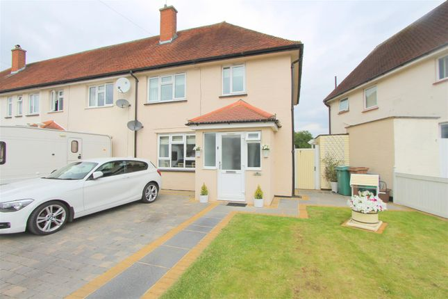 Thumbnail End terrace house for sale in Crispin Crescent, Beddington, Croydon
