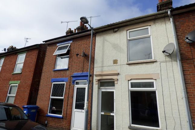 Thumbnail Terraced house to rent in Shelley Street, Ipswich