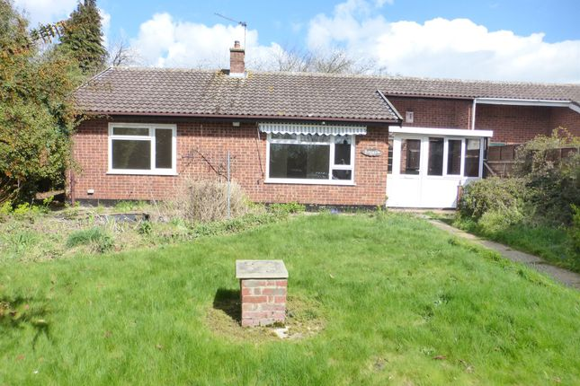 Thumbnail Terraced bungalow for sale in Shillito Road, Blofield, Norwich