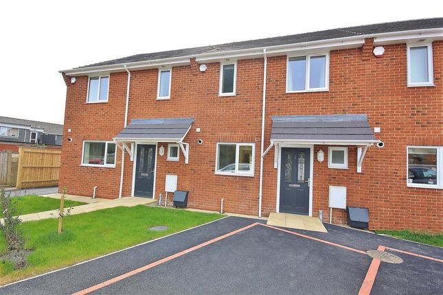 2 bed terraced house for sale in Rugby Way, Wimborne, Wimborne BH21