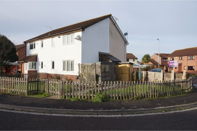 Thumbnail End terrace house for sale in Saxby Close, Weston Super Mare