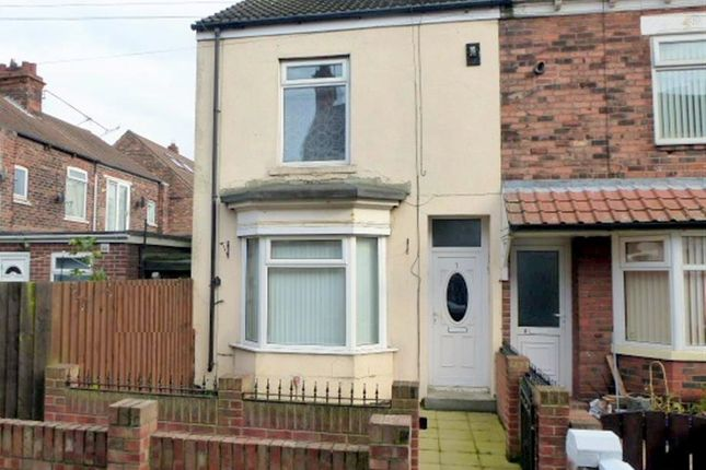 Thumbnail End terrace house to rent in Brooklyn Villas, Hull