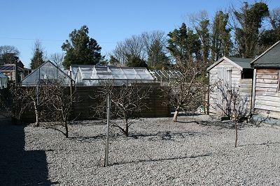 Garden of Woodlea, 2 Park Crescent, Creetown DG8