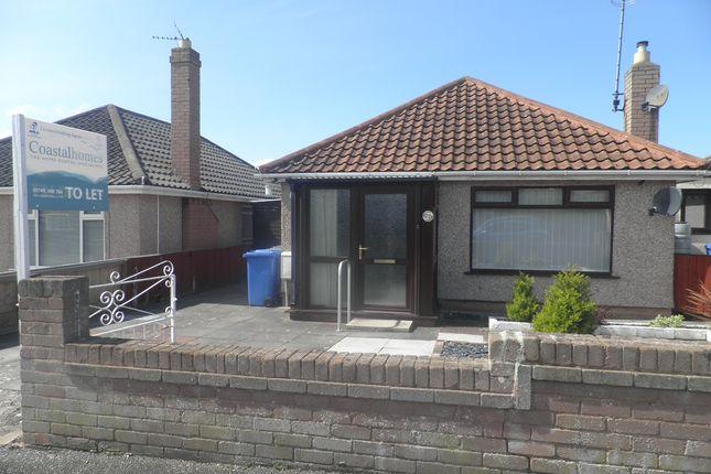Thumbnail Detached bungalow to rent in Viola Avenue, Rhyl