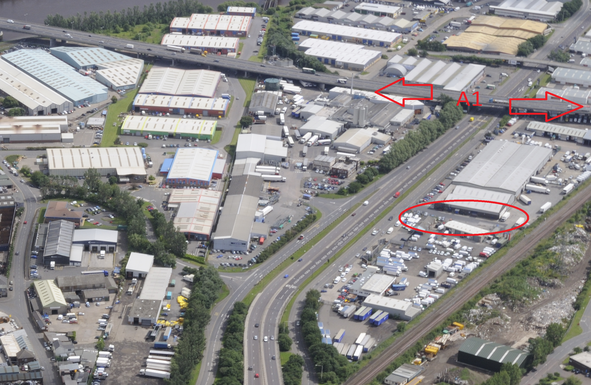 Thumbnail Land to let in Chainbridge Road, Blaydon, Newcastle Upon Tyne