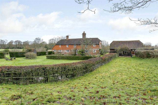 Thumbnail Detached house for sale in Cinder Hill Lane, Leigh, Tonbridge, Kent