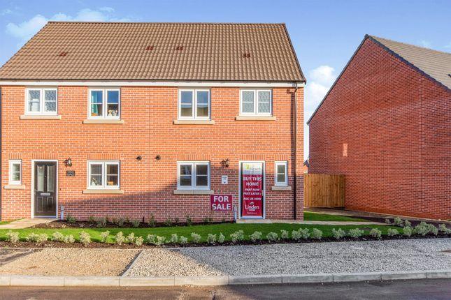 Thumbnail Semi-detached house for sale in Arlington Road, Hatfield, Doncaster