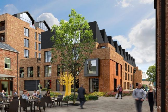 Thumbnail Town house for sale in The Ironworks, David Street, Holbeck Urban Village, Leeds