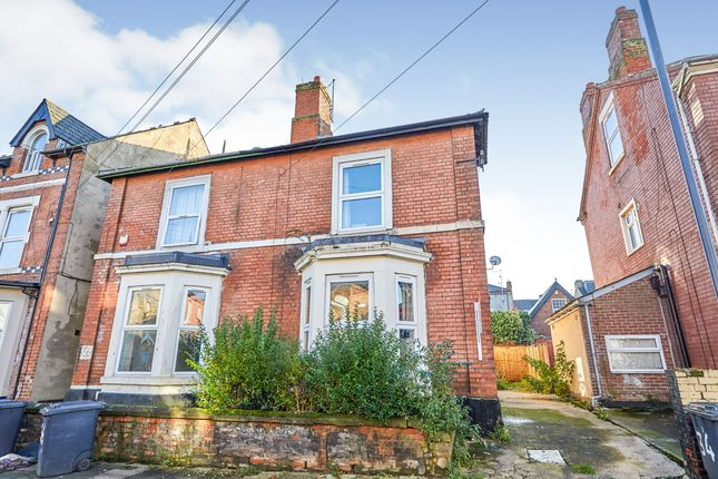 Thumbnail Semi-detached house to rent in Leopold Street, Derby